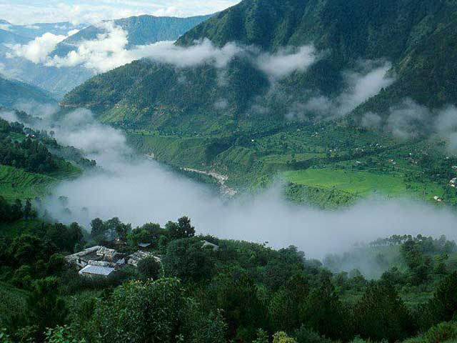 Palampur Village Himachal-Pradesh